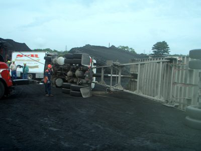 towing truck after accident